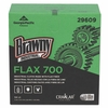 Brawny FLAX 700 Medium Duty Cloths, 9 x 16 1/2, White, 94/Box  10boxes/Carton,