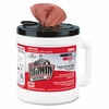 Brawny Industrial Medium Duty All Purpose Wipers in  a Bucket  (200 wipes/bucket) 2 Buckets/Case