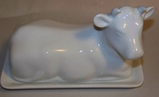 Butter Dish Cow Shape