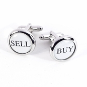 Buy  Sell Rhodium Plated Cufflinks