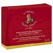 Li'l Goat's by Canus Li'l Goat's Milk Soap 2 (3.2 oz.) pack