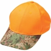 Casual Outfitters  Orange Hunter's Cap with Invisible  Camo Bill