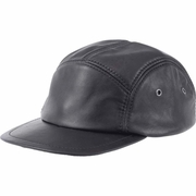 Casual Outfitters  Solid Genuine Leather Cap