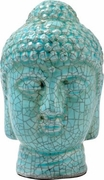 Ceramic Crackle Finish Buddha