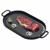 Chasseur Oval Cast Iron Grill  13-3/4""