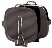 Chasseur Square Cast Iron Grill  9in