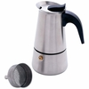 Chef's Secret  4 Cup Surgical Stainless Steel Espresso Maker