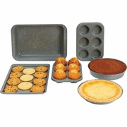 Chef's Secret® 6pc Non-Stick Carbon Steel Bakeware Set