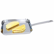 Chef's  Secret Stainless Steel Square Griddle   11""