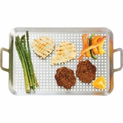 Chefmaster  Stainless Steel BBQ Grill Tray 19-3/4 long