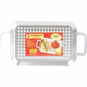 Chefmaster Stainless Steel BBQ Grill Tray 14-1/8 long