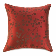 "Cherry Blossom Throw Pillow  18""sq."