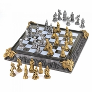 Chess Set Medieval Theme