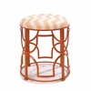 Chevron Pattern Chic Stool