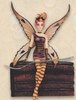 Chocolate Cake Fairy Figurine