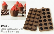 Mrs. Anderson's Baking Chocolate Mold,  Silicone, Cordial Cup