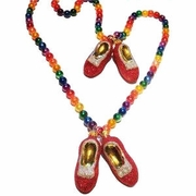 Christmas Pride Ruby Slipper Rainbow Garland