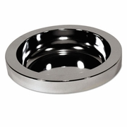 Chrome Ash Tray Top ONLY for RCP2586 Receptacle