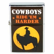 Cigarette Lighter  Cowboys Ride Em Harder