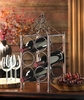 Circle Corral Wine Bottle Holder  Iron