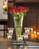 Circular Candle Stand with Vase  6 Candle Cups