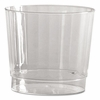 Classic Crystal™ Foodservice Plastic Rocks Squat Tumbler 9.5oz  240/cs.