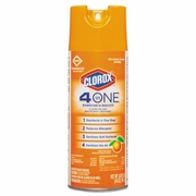 Clorox  4 in One Disinfectant & Sanitizer Citrus  14oz FREE SHIPPING