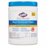 Clorox  Healthcare  Clinical Surfaces Germicidal Wipes 150 wipes/canister 6ct/case   FREE SHIPPING