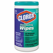 Clorox  Disinfecting Wipes Fresh Scent  75Ct 6/cs  FREE SHIPPING
