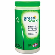 Clorox Green Works Natural Commercial Solutions Wipes  6/cs  FREE SHIPPING
