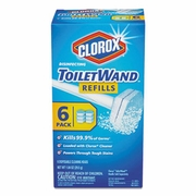 Clorox TolietWand  Disposable Cleaning Refill  8/case