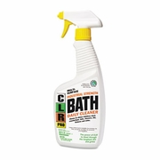 CLR® PRO Bath Daily Cleaner, Light Lavender Scent, 32oz Pump Spray, 6/Carton