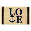 Welcome Mat / Doormat Coastal Love