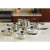 Cookware Set Wyndham House  by Justin Wilson  12pc Stainless Steel    FREE SHIPPING