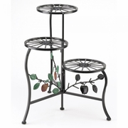 Country Apple Tiered Plant Stand