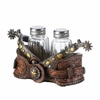 Cowboy Spurs Salt and Pepper Shaker Set