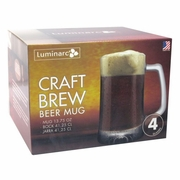 Craft Brew Mug Laser 15oz  Set of 4