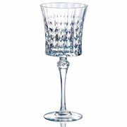 Cristal d'Arques Lady Diamond Diamax Goblet Glass   9oz   Set of 6