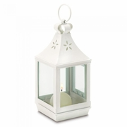 "Cutwork Garden Lantern Mini 7.25""h"