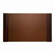 "Desk Pad  Tan Leather 20"" x  34"""