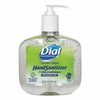 Dial Antibacterial Gel Hand Sanitizer w/Moisturizers 16oz Pump, Fragrance-Free, 8 per case. FREE SHIPPING