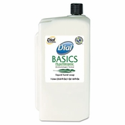 Dial® Basics Liquid Soap 1 Litre Refill   8/case   FREE SHIPPING