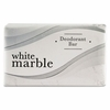 Dial White Marble Deodorant  .75 oz  Hotel Size Bar Soap FREE SHIPPING