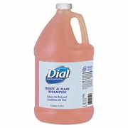 Dial Body and Hair Care, 1gal Bottle, Gender-Neutral Peach Scent, 4/Carton FREE SHIPPING