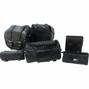 Diamond Plate™ 6pc Motorcycle Bag Set