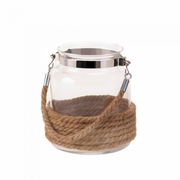 """Dockside Candle Lantern Small  6.5"""" h"""