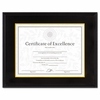 Document Certificate Hardwood Frame with Mat