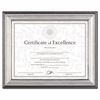 Document Frame Charcoal Nickel-Tone , Desk or Wall