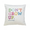 "Don't Grow Up  (it a trap) Decorative Throw Pillow 17"" x 17"""