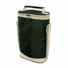 Double Bottle Wine Duffel  Hunter Green